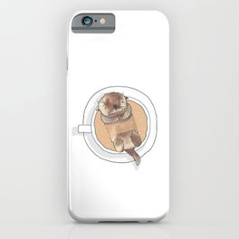 The Tea Otter iPhone Case