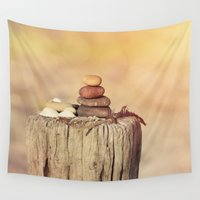 balance Wall Tapestries featuring Balance    by LebensART Photography