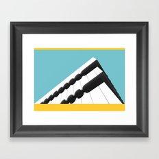 Escaleno Framed Art Print