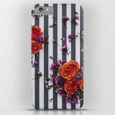 Botanical Stripes  Slim Case iPhone 6s Plus