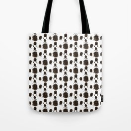 Messy dry curly hair pattern Tote Bag