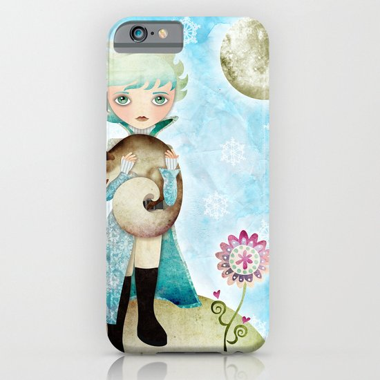 Wintry Little Prince iPhone & iPod Case