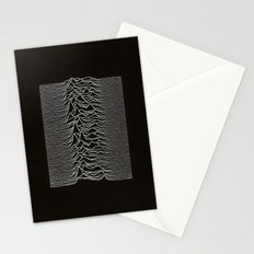 Unknown Pleasures Stationery Cards