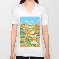 the neighbourhood V-neck T-shirts featuring Neighbourhood by James Thornton