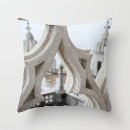 Belém Tower or the Tower of St Vincent Throw Pillow