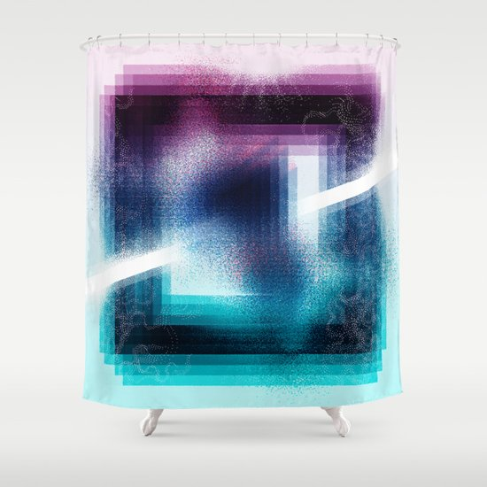 """Prisim"" by Justin Hopkins Shower Curtain"