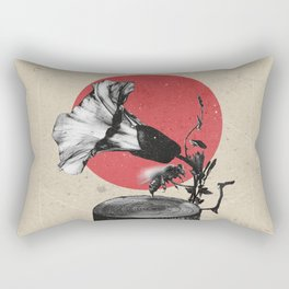 Gramophone Rectangular Pillow