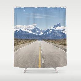El Chaltén - Patagonia Argentina Shower Curtain