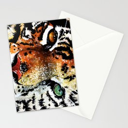 Bengal/White Siberian Tiger Stationery Cards
