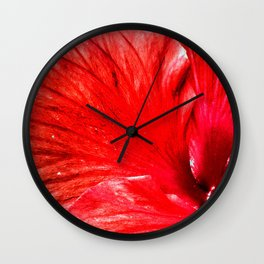 Habiscus Wall Clock