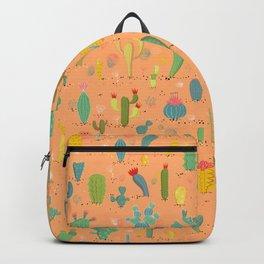 Cactus Desert Landscape Backpack