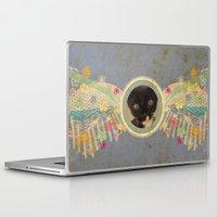 kitten Laptop & iPad Skins featuring Kitten by Duru Eksioglu