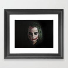 Joker1 Framed Art Print