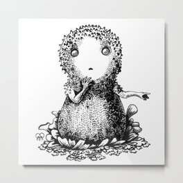 The Common Puffball Metal Print