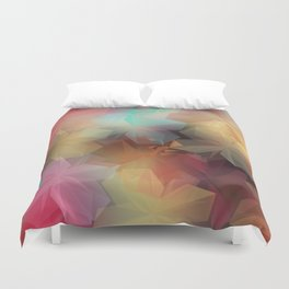 Soft Flowers Impressions Duvet Cover