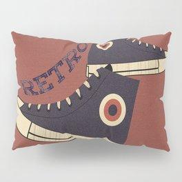 Retro Shoes Pillow Sham