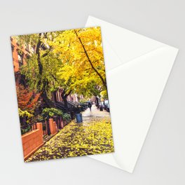 Autumn in Brooklyn Stationery Cards