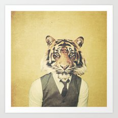 Humanimal: Tiger Art Print