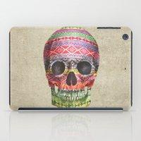 navajo iPad Cases featuring Navajo Skull  by Terry Fan