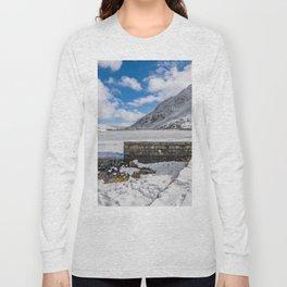 Weir At Ogwen Lake Long Sleeve T-shirt
