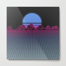 Sundown Metal Print