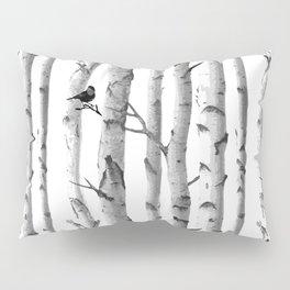 Trees Trunk Design Pillow Sham