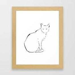 Cat 15 Framed Art Print