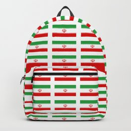 flag of iran 2- Persia, Iranian,persian, Tehran,Mashhad,Zoroaster. Backpack