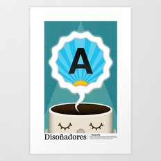 Dreamigners   Typography Art Print