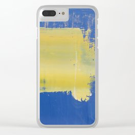 Simon Carter Painting Flippin' McFly Clear iPhone Case