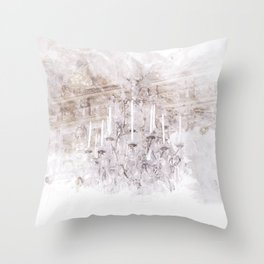 Palace Chandelier 1 Throw Pillow