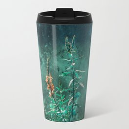 Fairy Flowers in the Jade Moonlight Travel Mug