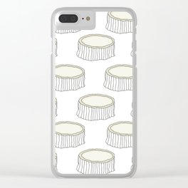 Goat Cheese Clear iPhone Case