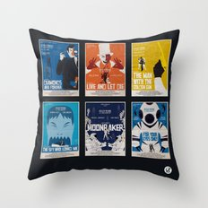Bond #2 Throw Pillow