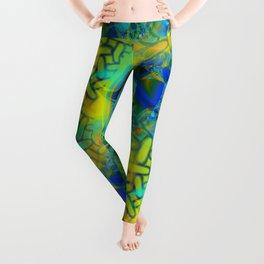 Abstract Layering Leggings