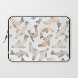 My Lips Are Seals Laptop Sleeve
