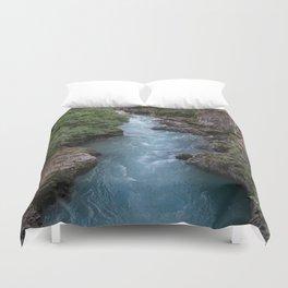 Alaska River Canyon - I Duvet Cover