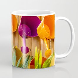 Colorful Watering Cans Coffee Mug