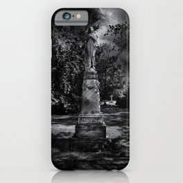 Tombstone Shadow No 2 iPhone Case