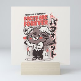 Pacts Are Forever Mini Art Print