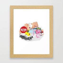 Ecto 1 Framed Art Print