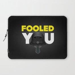 FOOLED YOU - Dark Helmet Spaceballs Laptop Sleeve