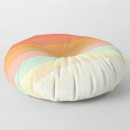 Rainbow Chevrons II Floor Pillow