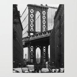 Brooklyn Bridge - DUMBO Poster