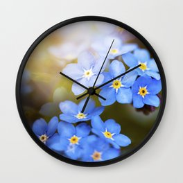 Don't Forget Me no.3863 Wall Clock