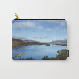 View over Derwent Water to Keswick. Lake District, UK. Carry-All Pouch