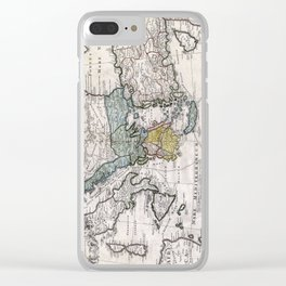 Map of Ancient Greece and the Eastern Mediterranean by Heirs Homann - 1741 Clear iPhone Case
