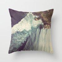 bali Throw Pillows featuring Bali by gwstella