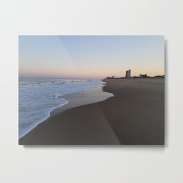 Virginia Beach Oceanfront Metal Print