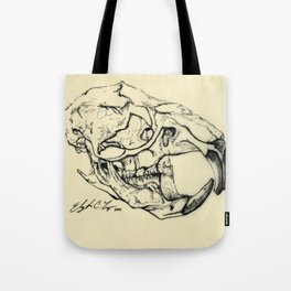 Rat Skull Tote Bag